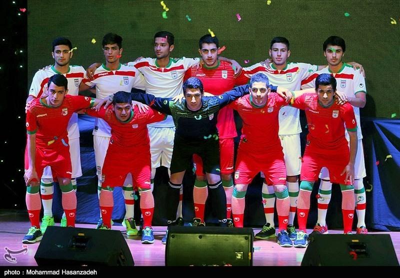 more photos cc900 73ab1 Photos: Iran unveils Cheetah logo on the uniform of national ...
