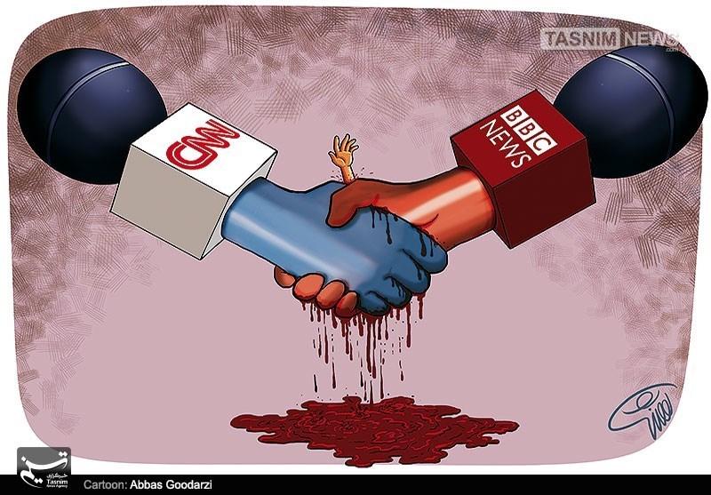 Afbeeldingsresultaat voor Western media is fake cartoon