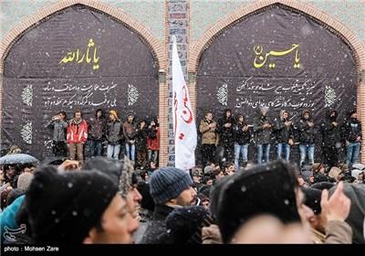 عزاداری تاسوعای حسینی در اردبیل