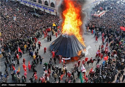 Iranians Hold Ashura Mourning Processions in Commemoration of Imam Hussein