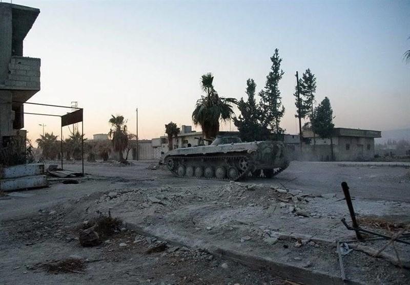 آزادسازی«المیدعانی» در حومه دمشق/ارتش سوریه به 10 کیلومتری قلعه«جیشالاسلام» رسید+تصاویر و نقشه
