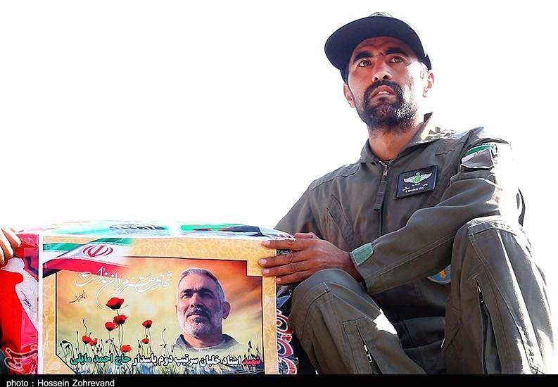 گزارش تصویری/ خلبان شهید جایروپلن شناسایی سپاه در کنار فرمانده شهیدش