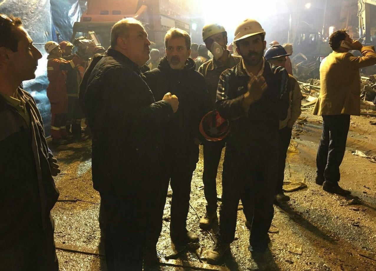 تجهیزات نیروگاهسازان ایرانی به کمک آواربرداری پلاسکو آمد
