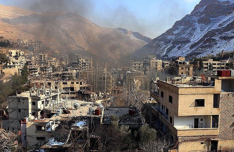 1395111215553034598585610 تصاویر آزادسازی شهرک عین الفیجه در سوریه + عکس چشمههای آب الفیجه
