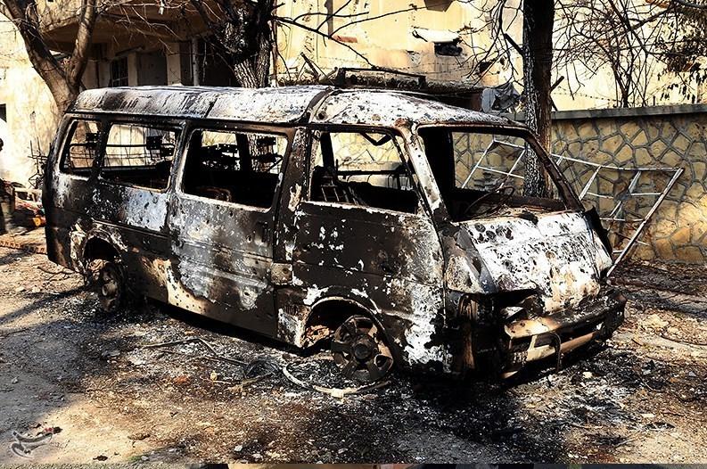1395111215565379898585910 تصاویر آزادسازی شهرک عین الفیجه در سوریه + عکس چشمههای آب الفیجه