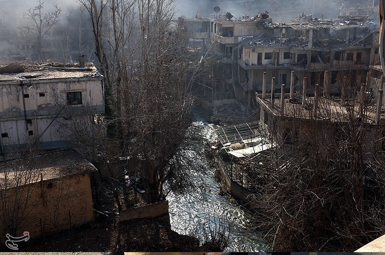 1395111215575989298586110 تصاویر آزادسازی شهرک عین الفیجه در سوریه + عکس چشمههای آب الفیجه