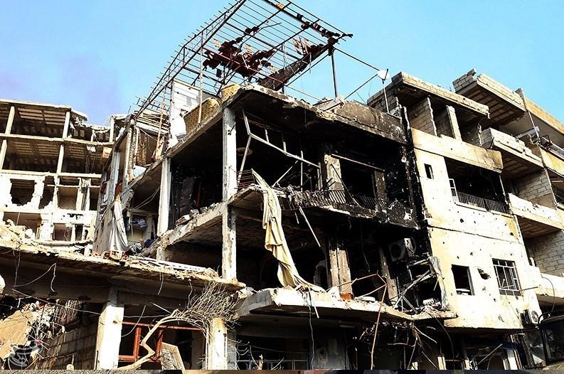 1395111215581723698586210 تصاویر آزادسازی شهرک عین الفیجه در سوریه + عکس چشمههای آب الفیجه