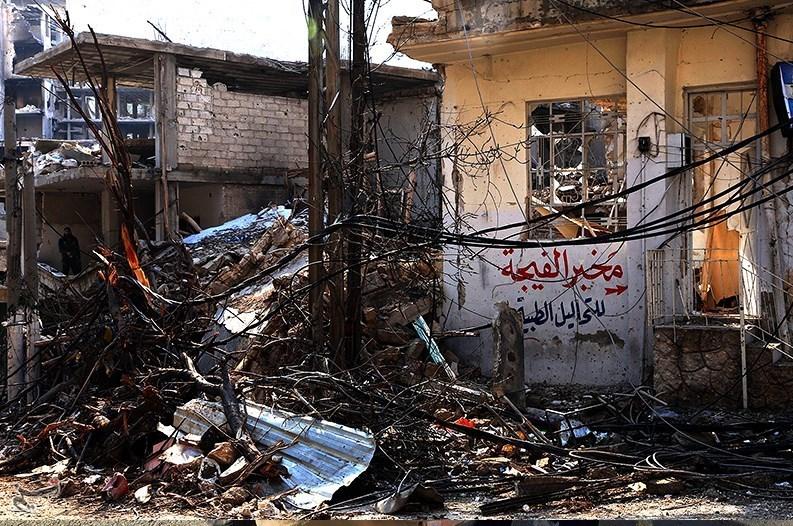 1395111215590045498586610 تصاویر آزادسازی شهرک عین الفیجه در سوریه + عکس چشمههای آب الفیجه