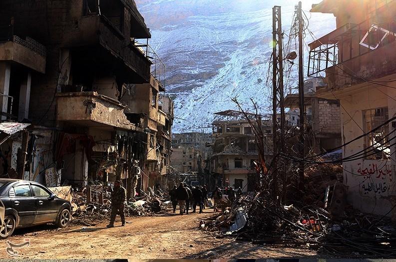 1395111215592551798586710 تصاویر آزادسازی شهرک عین الفیجه در سوریه + عکس چشمههای آب الفیجه
