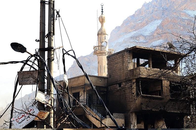 1395111216000375198586910 تصاویر آزادسازی شهرک عین الفیجه در سوریه + عکس چشمههای آب الفیجه