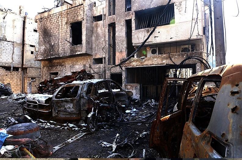 1395111216011548698587210 تصاویر آزادسازی شهرک عین الفیجه در سوریه + عکس چشمههای آب الفیجه