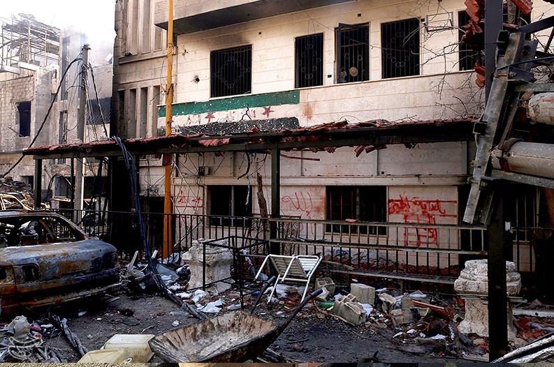 1395111216020859598587410 تصاویر آزادسازی شهرک عین الفیجه در سوریه + عکس چشمههای آب الفیجه