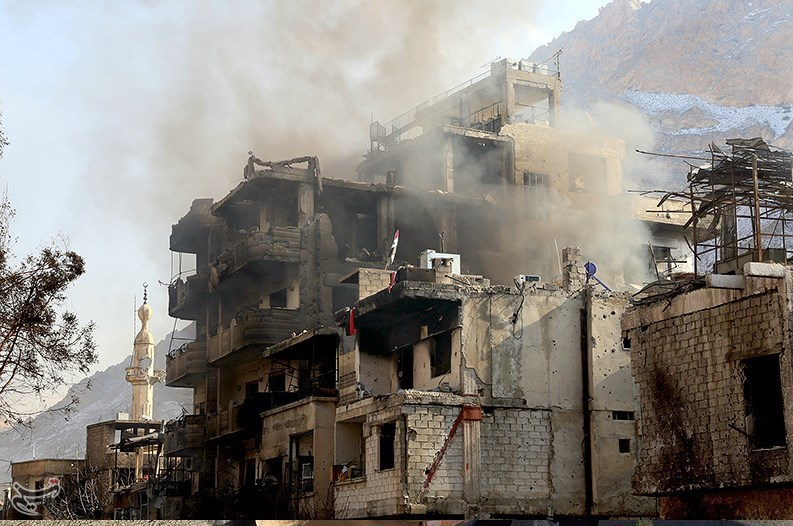 1395111216023465898587510 تصاویر آزادسازی شهرک عین الفیجه در سوریه + عکس چشمههای آب الفیجه