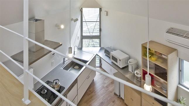 1395112009560245199414310 - خانه ۵۵ متر مربعی با معماری شگفتانگیز + عکس