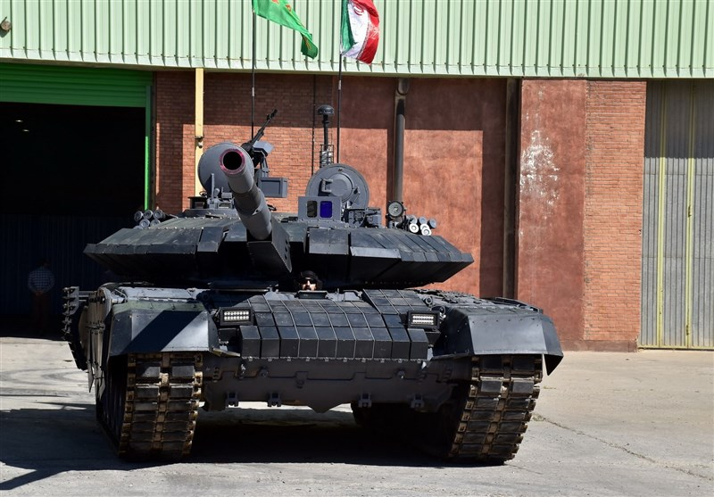 new iran tank two karrar