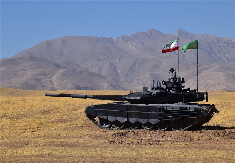 Iran unveils new home-made tank