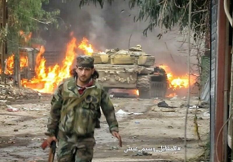 المعارضة المسلحة تشن هجوما جديدا على المداخل الشمالية الشرقية للعاصمة السورية دمشق