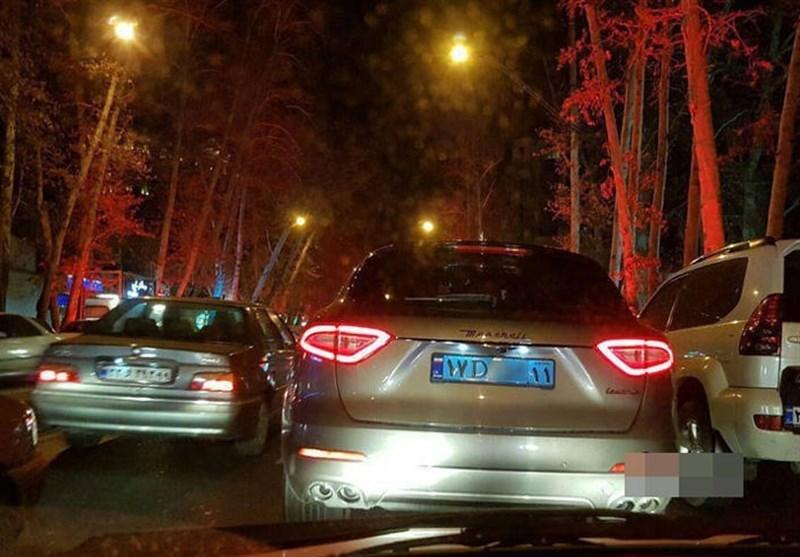 مازراتی دیپلماتیک در خیابانهای پایتخت+عکس