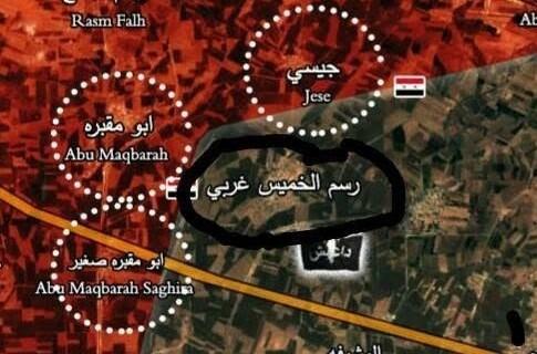 ازسرگیری عملیات ارتش در جبهه «جوبر» / حملات سنگین به مواضع تکفیریها در «حماه و ادلب» + نقشه