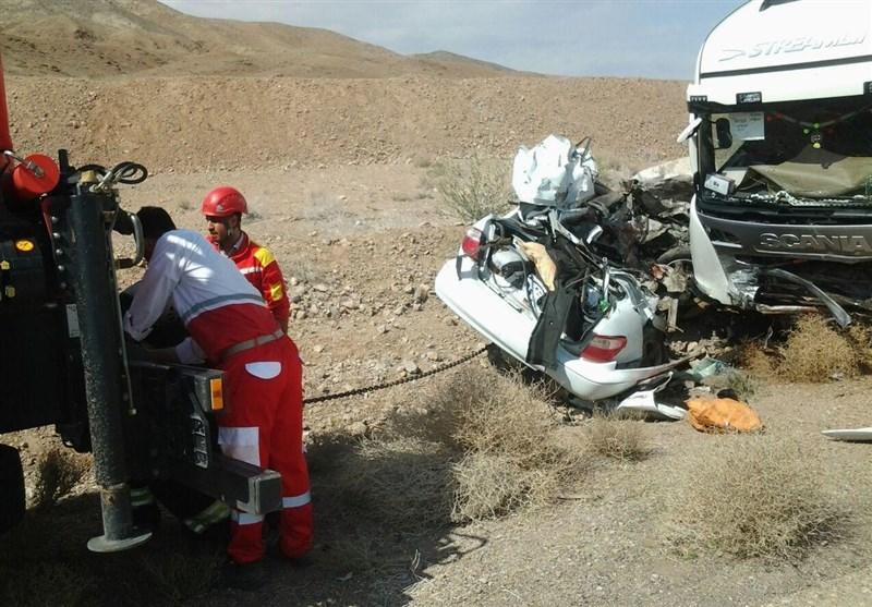 عکس تصادف مرگبار حوادث شاهرود حوادث سمنان تصادف وحشتناک در ایران اخبار شاهرود اخبار تصادف