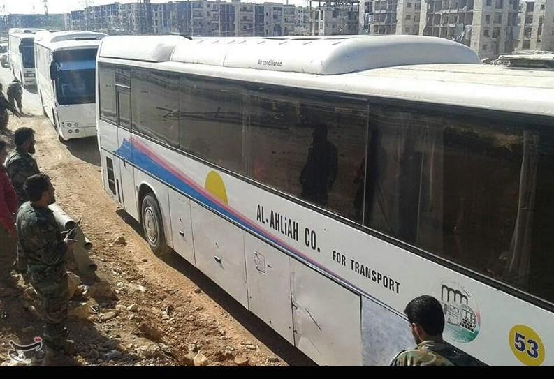 ورود 50مجروح کفریا و فوعه به حلب