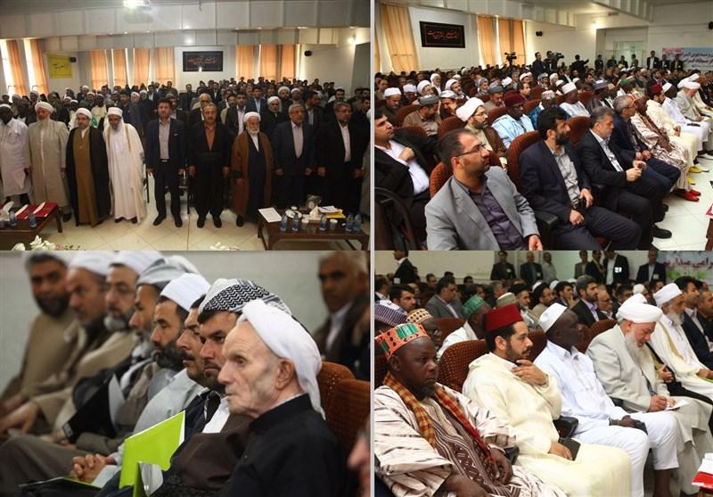 گزارش تصویری همایش ملی تقریب مذاهب و وحدت اسلامی در مهاباد