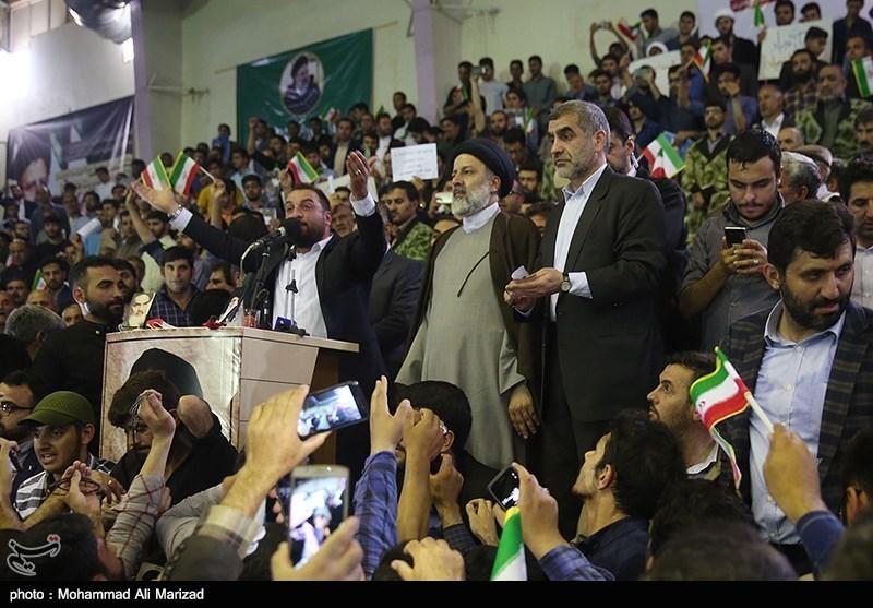 گزارش تصویری سخنرانی «سیدابراهیم رئیسی» در خرم آباد