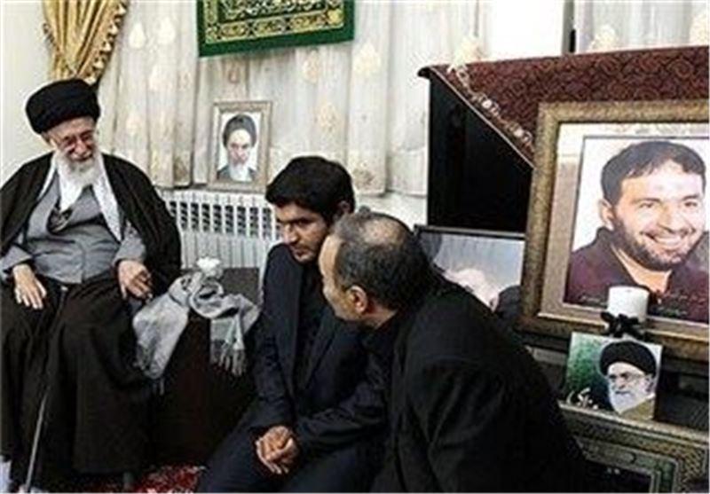 رهبر معظم انقلاب شهید حسن تهرانی مقدم