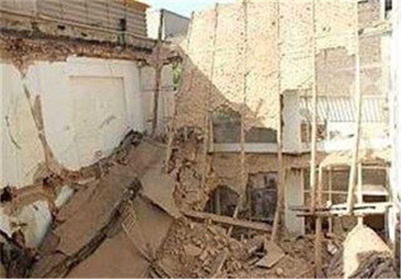 باز هم ریزش آوار ساختمان در پی تخریب غیر اصولی
