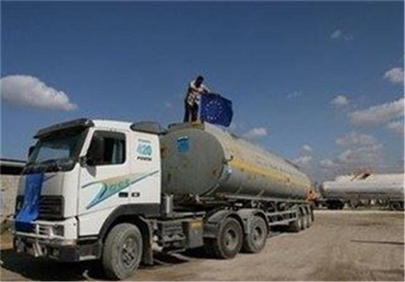 کامیون سوخت