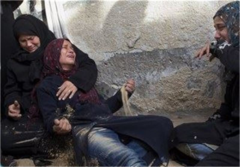زن فلسطینی