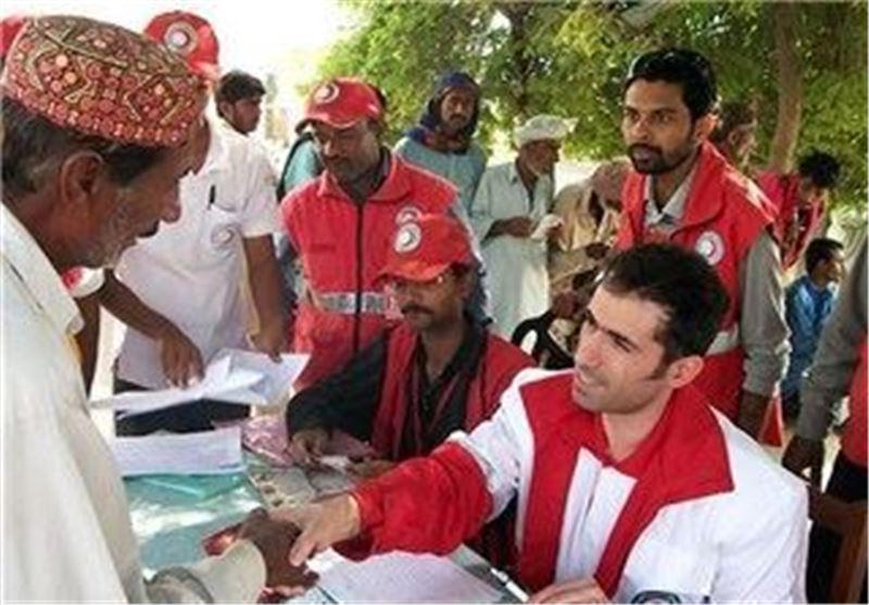 کمک به سیل زدگان پاکستان