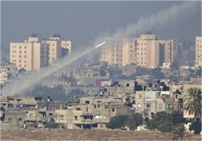 مقاومت فلسطین 8 راکت به عسقلان شلیک کرد