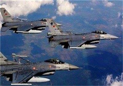 جنگنده های ترکیه پناهگاه های پ ک ک را نابود کردند