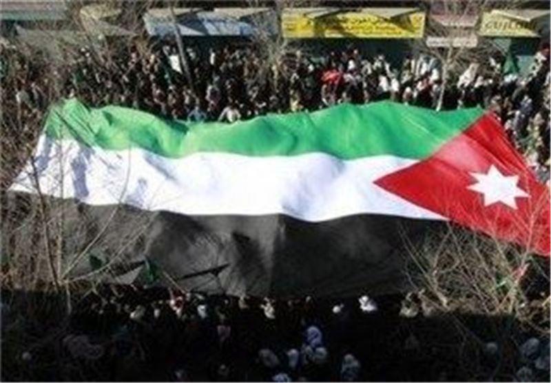 تظاهرات مردم در اردن