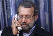 """درخواست کمک رئیس مجلس عراق از لاریجانی برای حل اوضاع """"استان الانبار"""""""