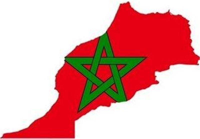 مراکش نقشه پرچم