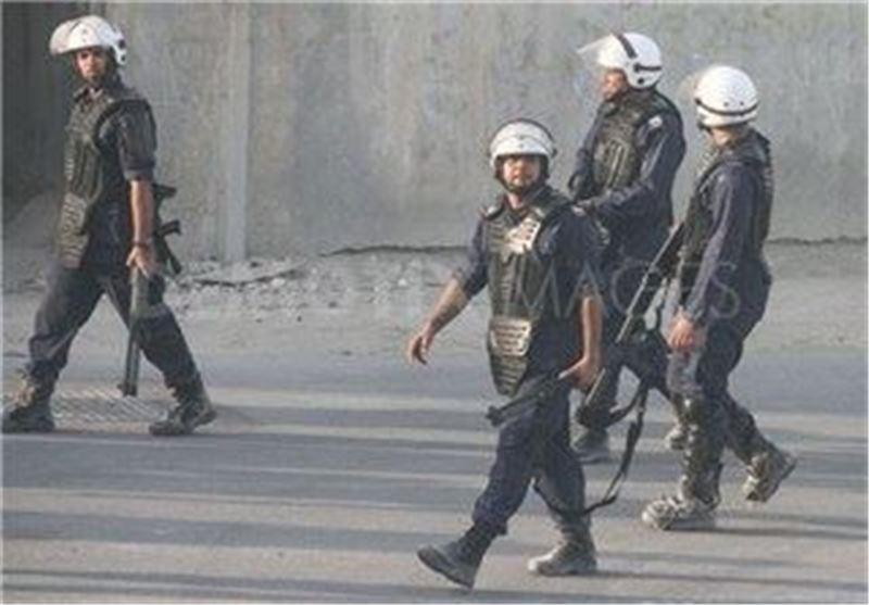 پلیس سرکوب بحرین