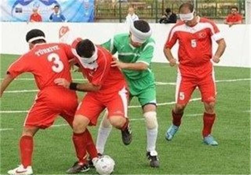 Iranian Blind Footballers Comes 2nd at Brazil's International Challenge