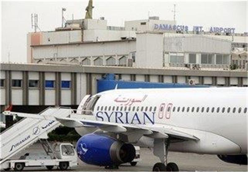 هواپیمایی سوریه، فرودگاه بین المللی دمشق