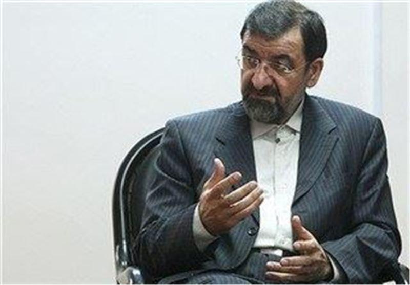 أمین مجمع تشخیص مصلحة النظام: استراتیجیة الغرب ازاء تطورات المنطقة مکتوب علیها بالفشل