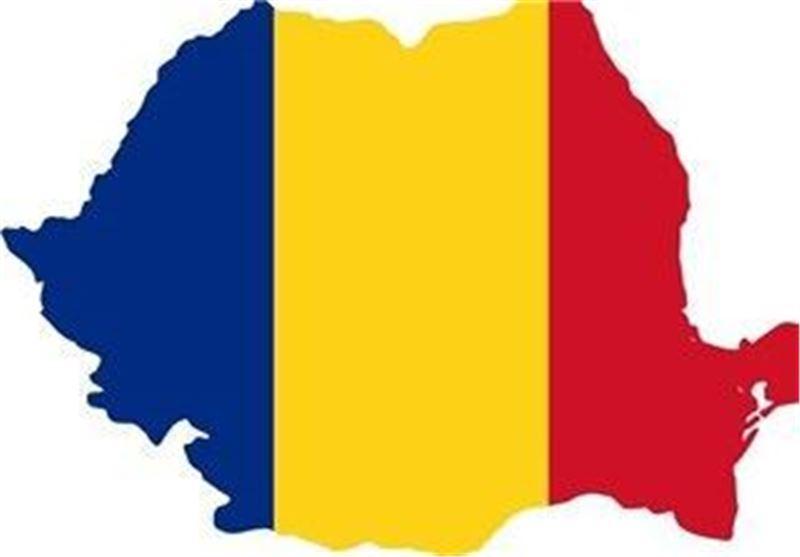پرچم نقشه رومانی