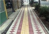 مناسبسازی 24000 مترمربع از پیادهروهای زنجان