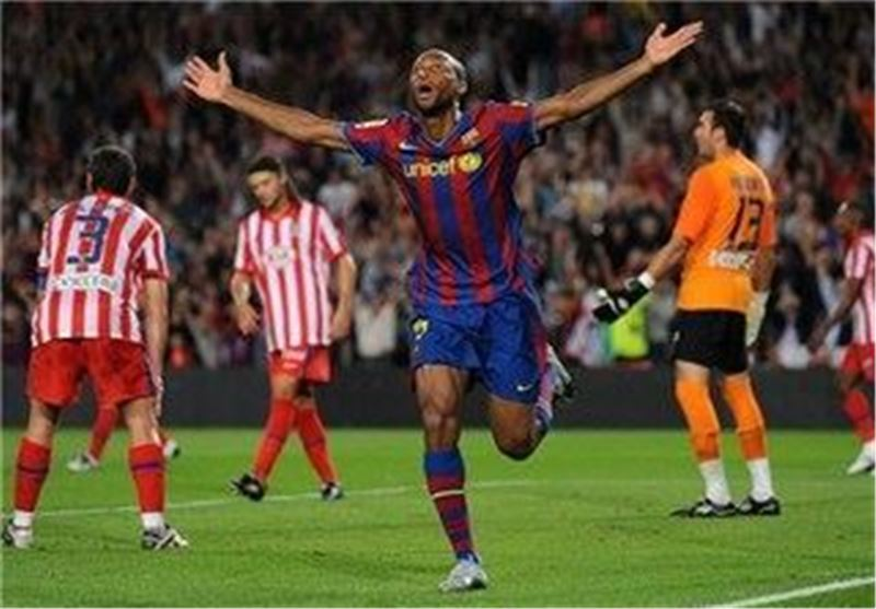 سیدو کیتا هافبک سابق بارسلونا