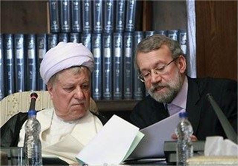هاشمی رفسنجانی و لاریجانی
