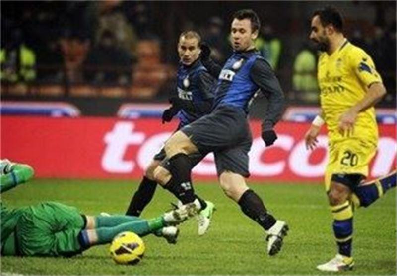 پیروزی اینتر برابر ورونا در کوپا ایتالیا