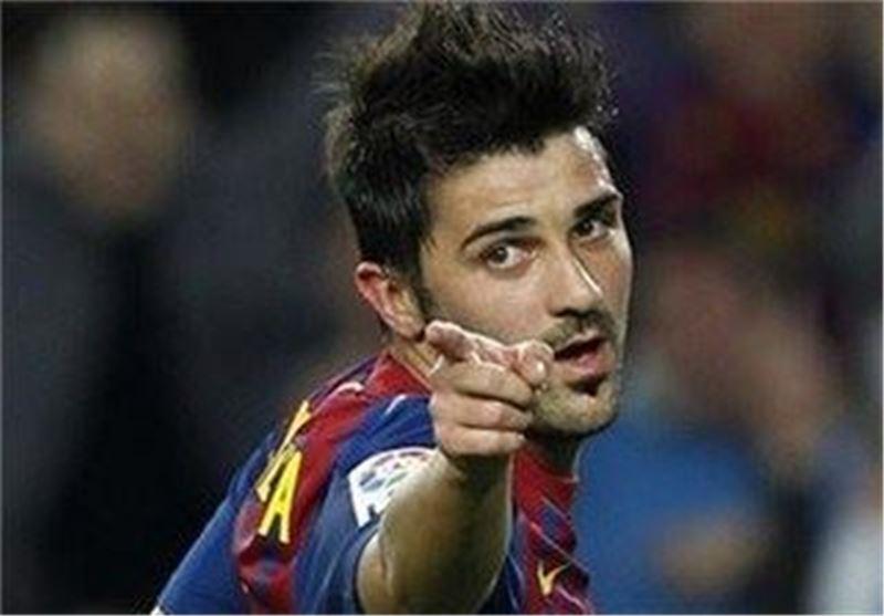 داوید ویا مهاجم بارسلونا