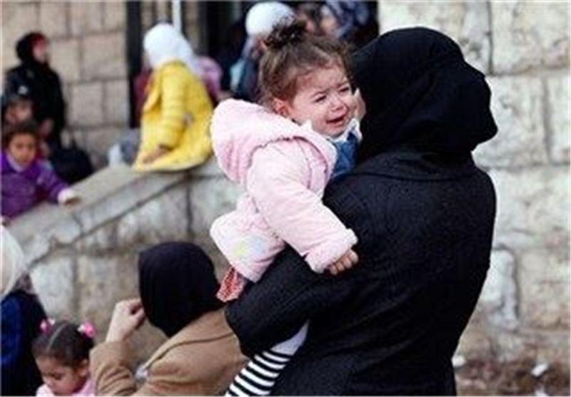 اوارگان فلسطینی اردوگاه یرموک دمشق سوریه
