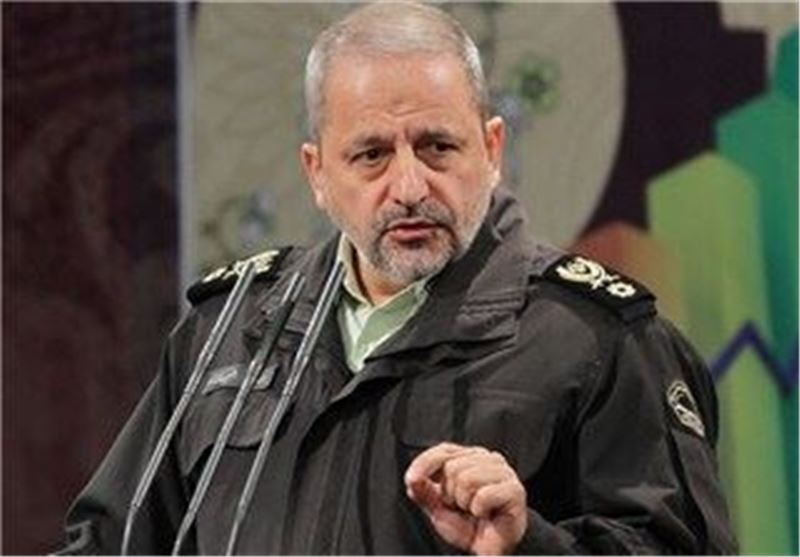 Police Chief Lauds Tranquility in Iran