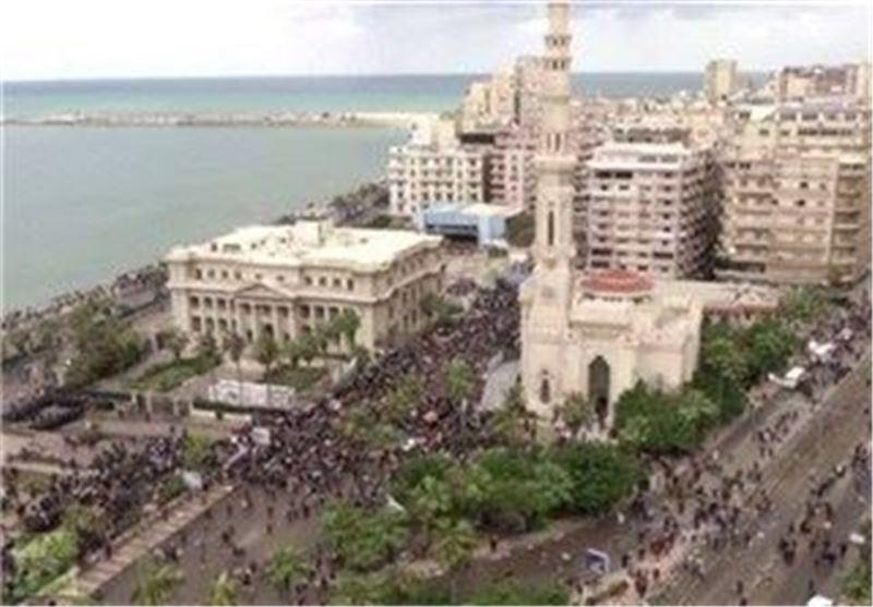 درگیری موافقان و مخالفان قانون اساسی جدید مصر در شهر اسکندریه